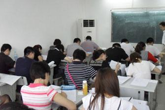 上海执业药师培训上课场景